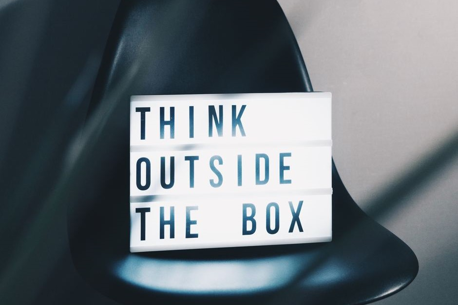 Think outside the box - the boring brands are going to be forgotten.